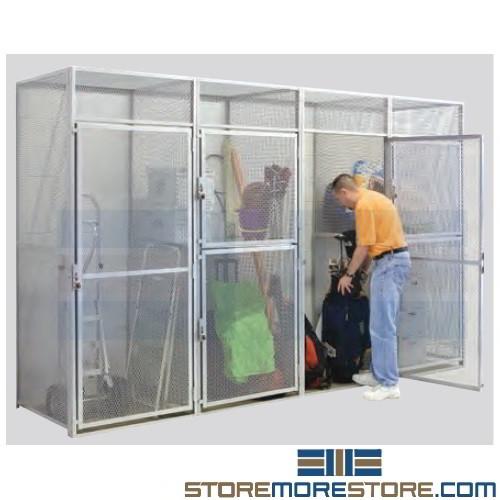 Wire Cage Bike Storage
