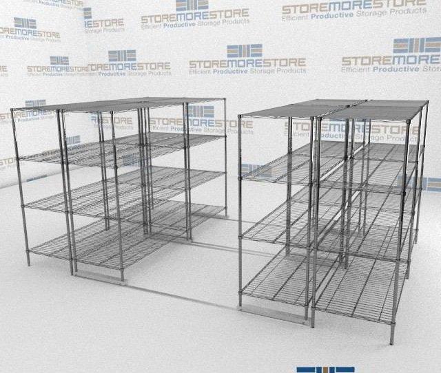 Sliding Wire Shelves And Chrome Wire Shelves