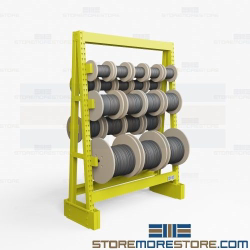 bulk cable storage rack 6 w x 2 2 d x 8 h sms 62 1073r06 k