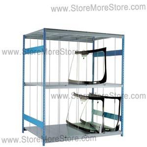 windshield storage rack 96 wide x 48 deep x 87 high sms 81 srp0480