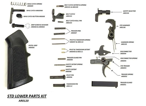 Lower Parts Kit Single Stage Trigger