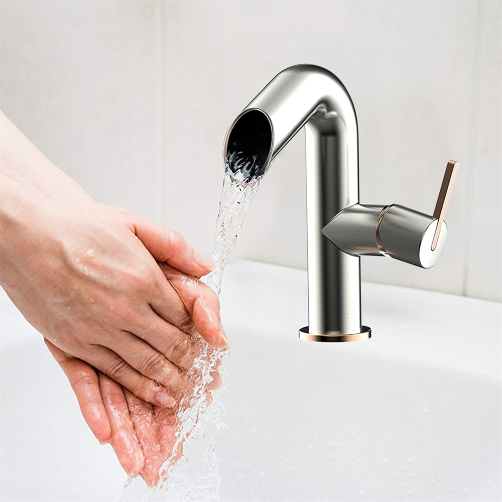 tuscany single handle bathroom sink faucet