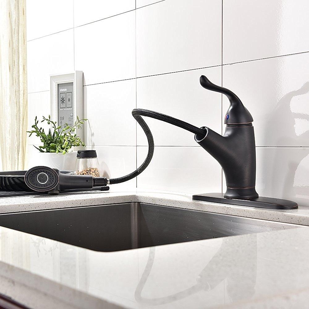 mona oil rubbed bronze kitchen sink faucet