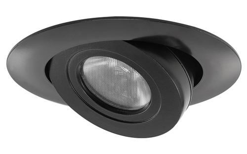 juno 440led g4n 06lm 40k 90cri bl recessed lighting 4 led adjustable module 600 lumens 4100k color temperature with black trim