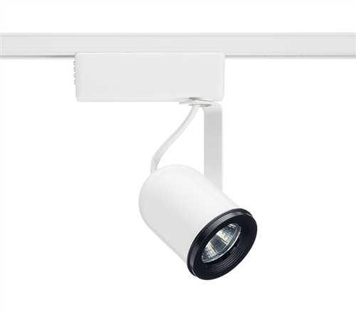 juno track lighting r702wh r702 wh trac lites low voltage round back with transformer white color