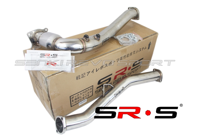 srs 2015 wrx down pipe j pipe with cat