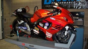 hayabusa brock s performance short megaphone full exhaust system free 5 position black lowering links and bmc air filter