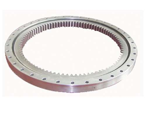 12 Inch Four Point Contact 300x475x55 Mm Ball Slewing Ring Bearing With Inside Gear