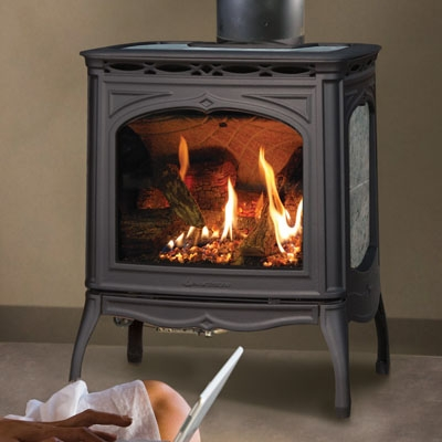 Hearthstone Tucson 8702 Soapstone Direct Vent Gas Stove At