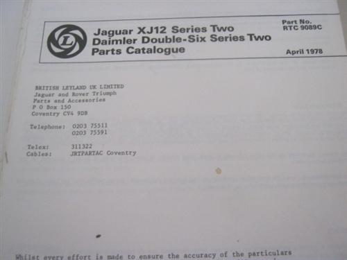 Jaguar Xkr Parts Catalog