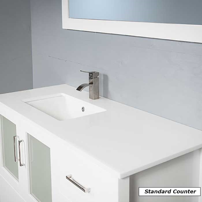 vanity style 7048 sink right
