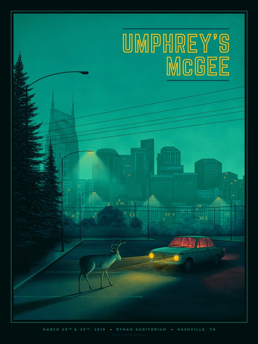 mcgee concert poster by nicholas moegly