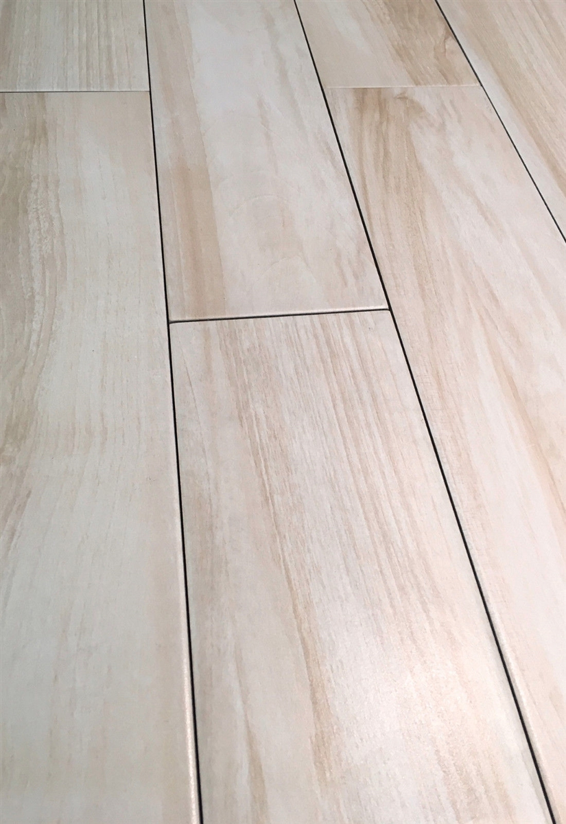6x24 marina white maple porcelain plank wood field tile