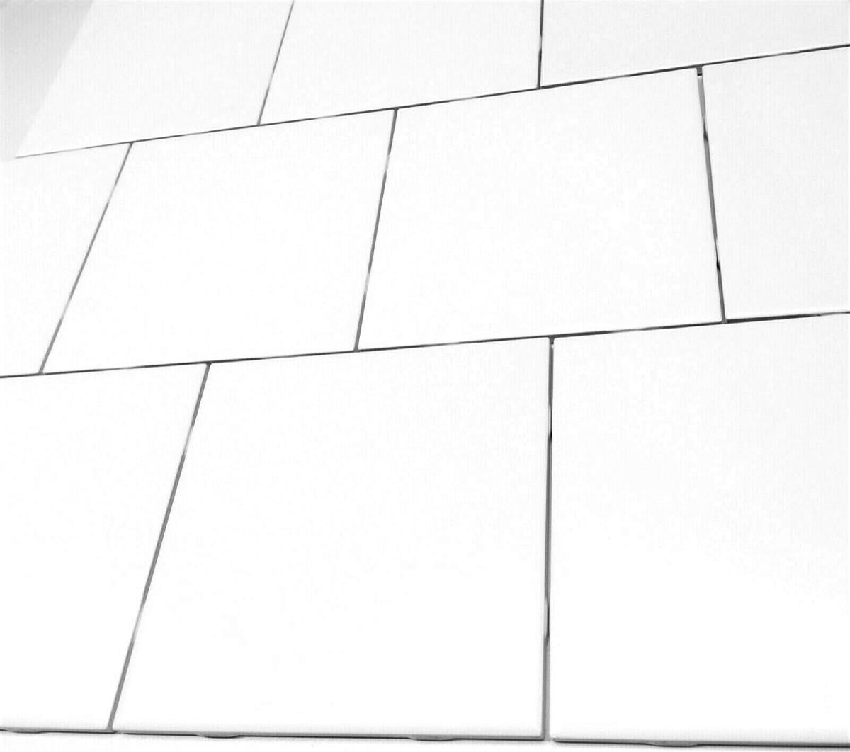 6x6 0799 matte pearl white ceramic wall tile
