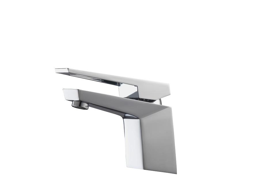 aqua siza single lever modern bathroom vanity faucet chrome in stock