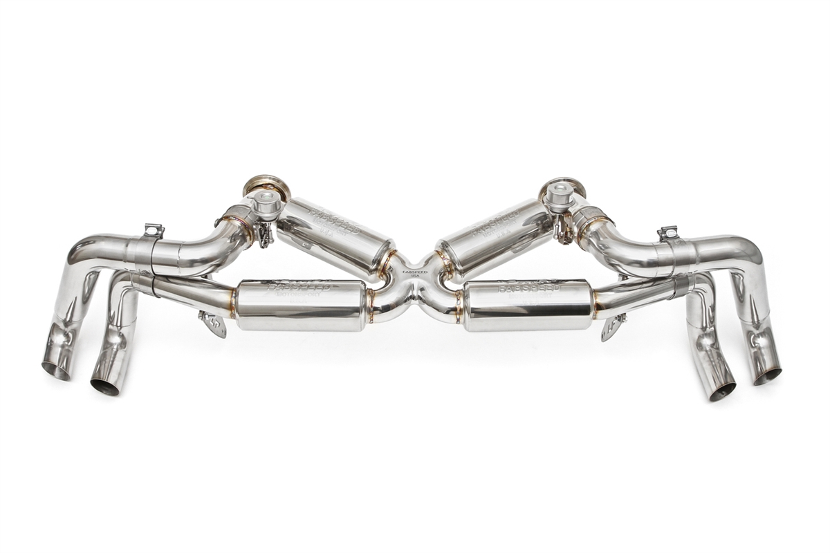 Fabspeed Huracan Supersport X Pipe Valved Exhaust System