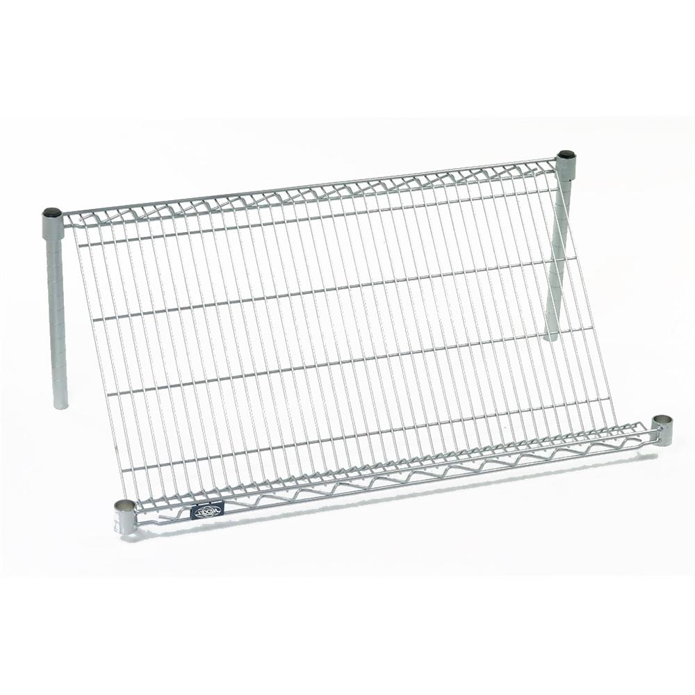 slant wire shelves by nexel
