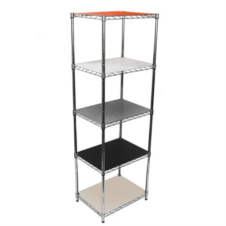 18 durable plastic wire shelf liner