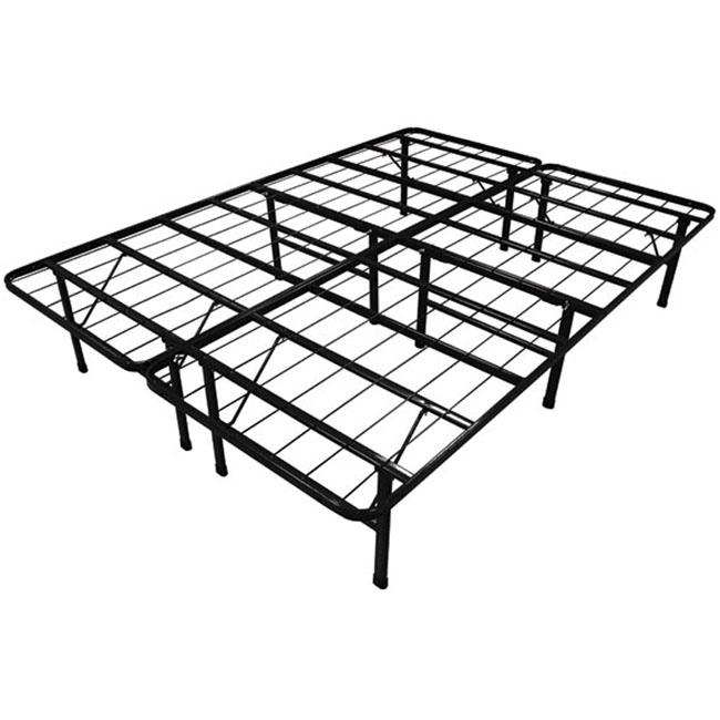 Queen Size Duramatic Steel Folding Metal Platform Bed Frame
