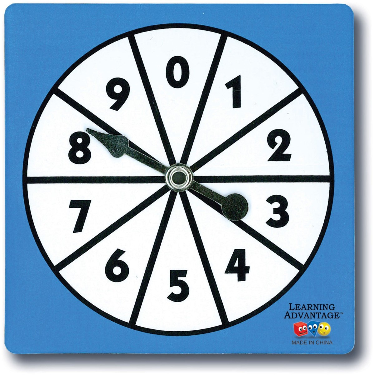 0 9 Number Spinners Ctu Learning Advantage Probability