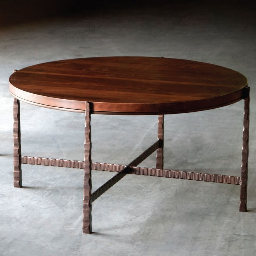 nash 42 in round cocktail table