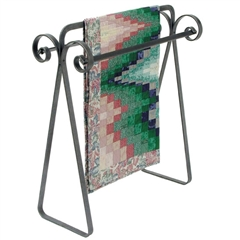 wrought iron quilt stands timeless