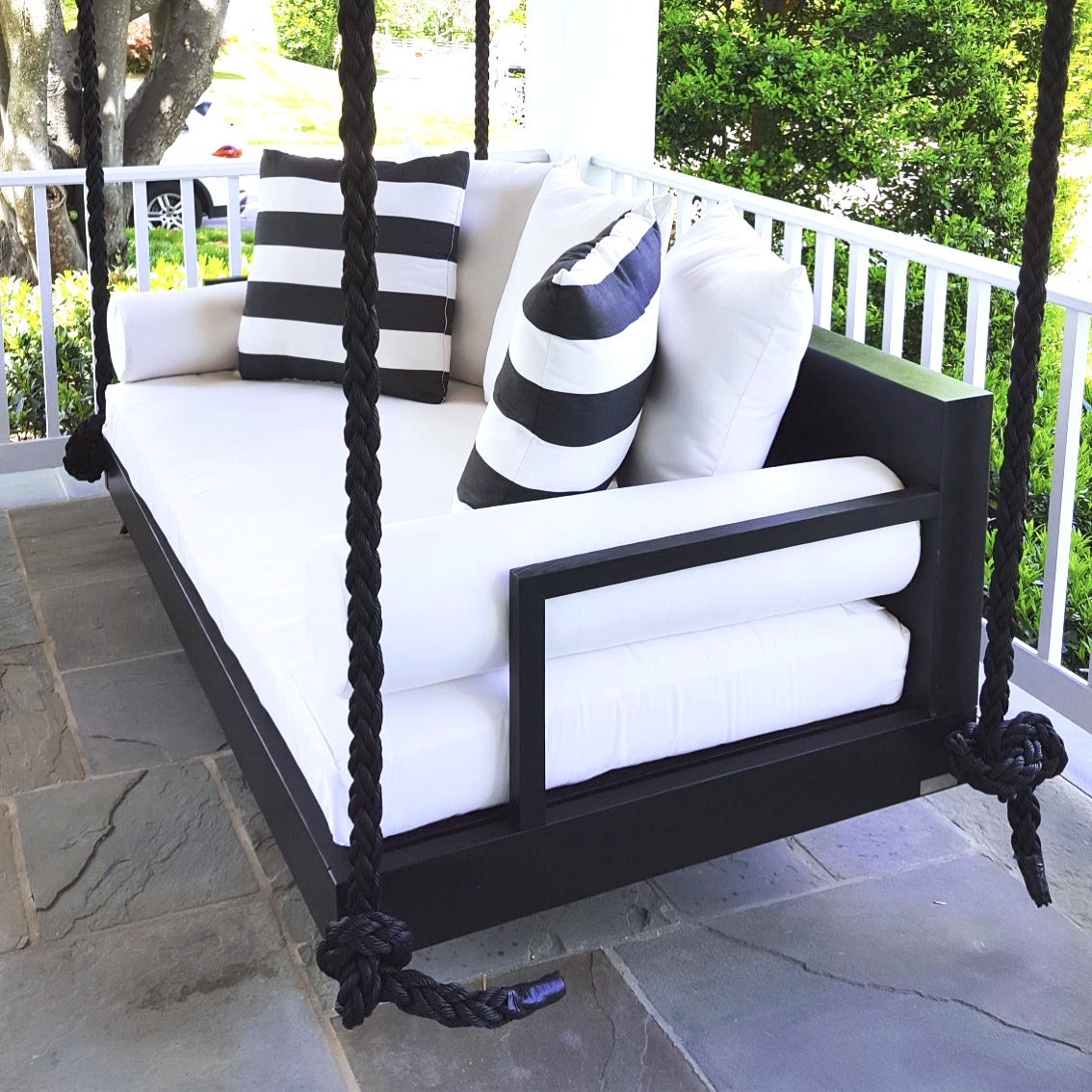 The Charlotte Swing Bed
