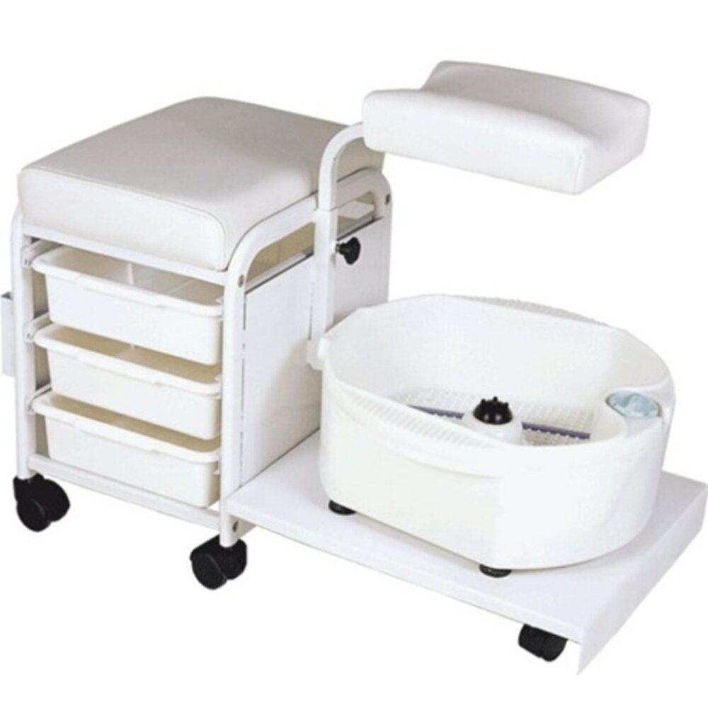 Encore Portable Deluxe Pedicure Spa Technician Stool H 2305