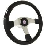 Ford Mustang S6 Black Wood Steering Wheel Cobra Kit