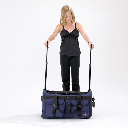 rac n roll black expandable dance bag 4 0 with rack large