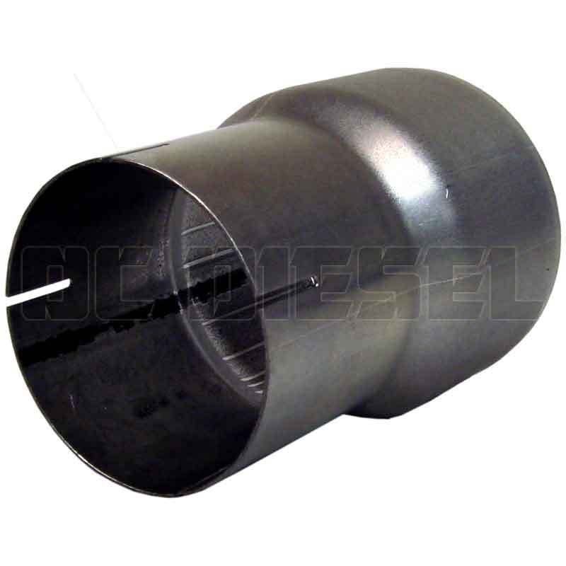 mbrp ua2001 aluminized exhaust pipe adapter 4 to 5 inch