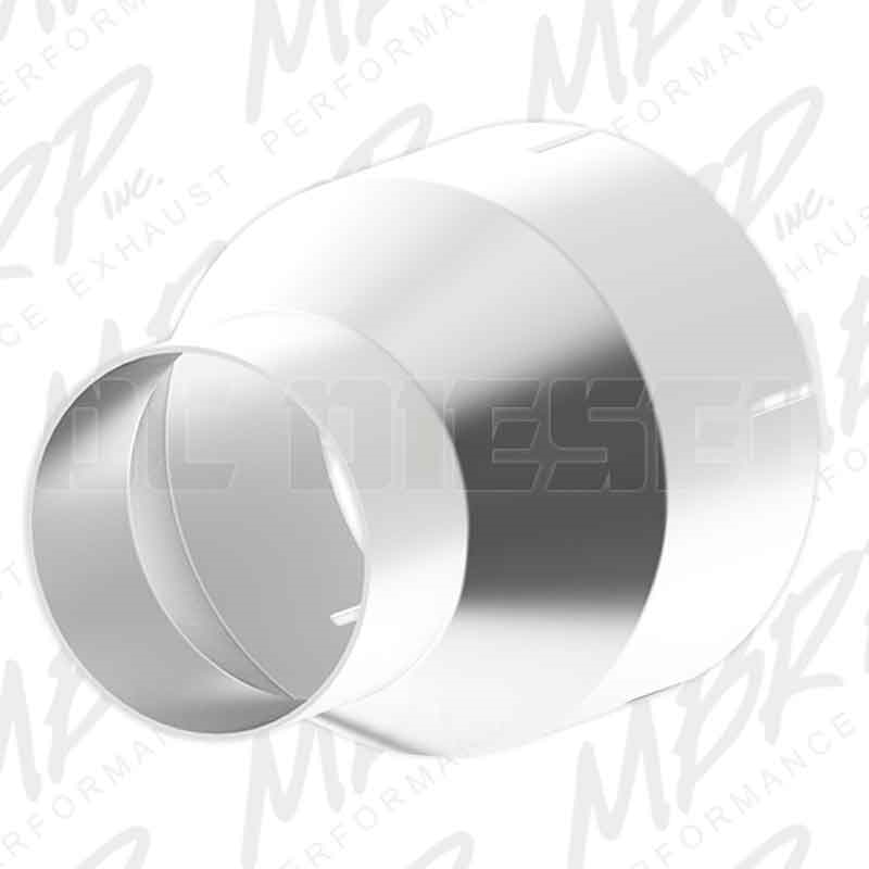 mbrp ua9004 stainless t409 exhaust pipe adapter 4 to 5 inch