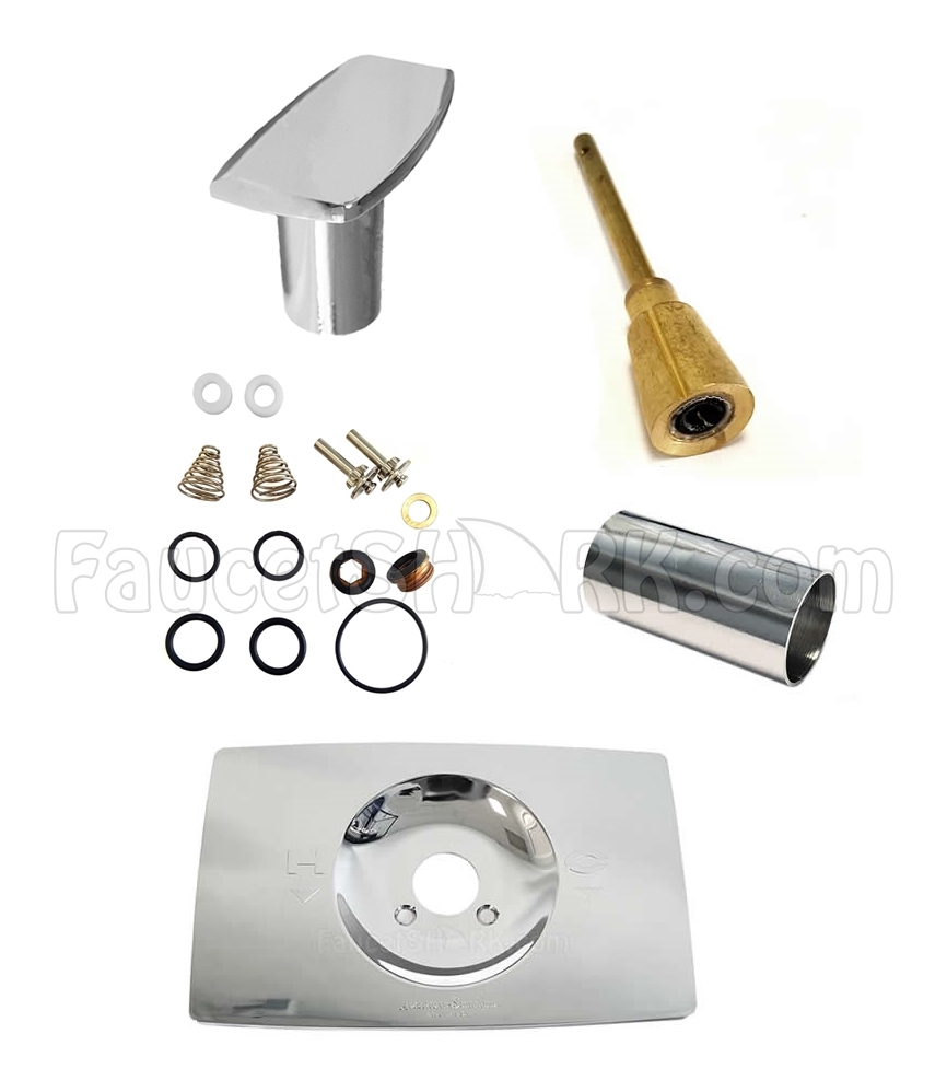 american standard cam stem rebuild kit complete with escutcheon and sleeve