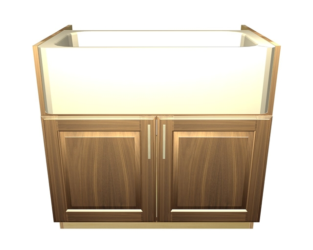 2 door farm sink base cabinet sink not included