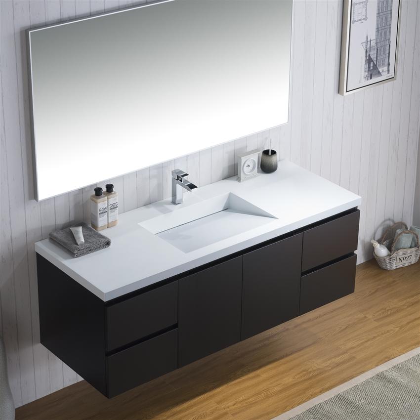 vanity adams 60 s infinity sink