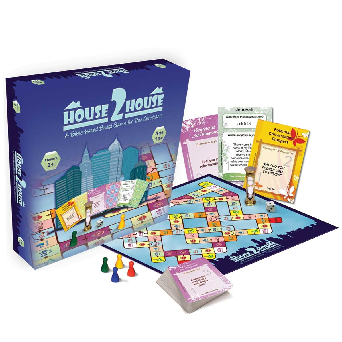 House2house Jehovaha S Witness Board Game