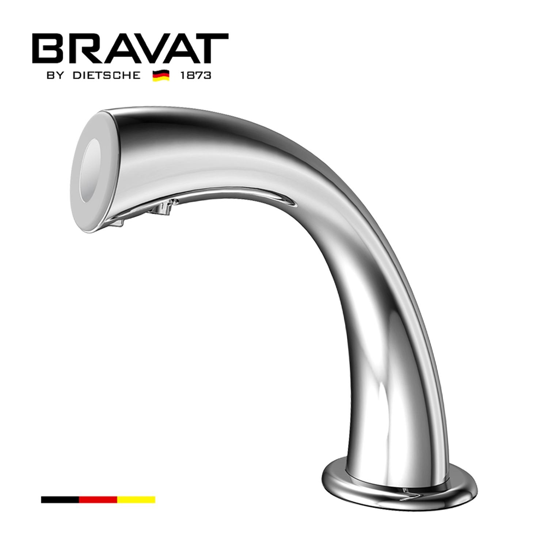bravat commercial automatic sensor faucet in chrome