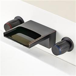 oil rubbed bronze bathroom bathtub