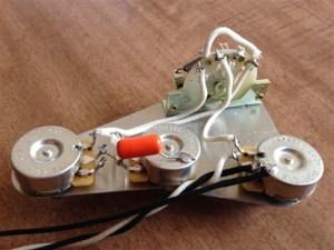 Upgrade Wiring Harness for Fender Stratocaster CTS No Load Pots CRL Orange Drop