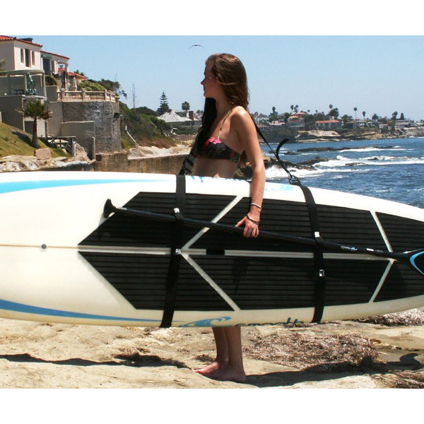 the big board sup schlepper stand up paddle board carrier shoulder sling