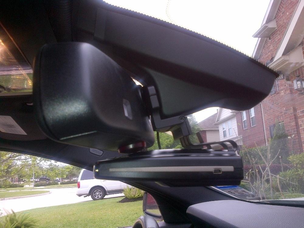 BlendMount BMW Radar Detector Mirror Mounts