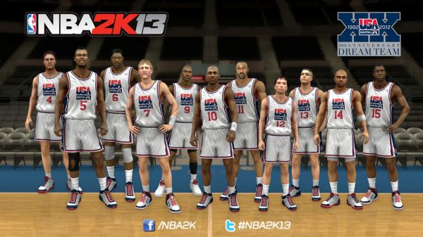 'NBA 2K13' goes to the Olympics with 1992 'Dream Team' and ...