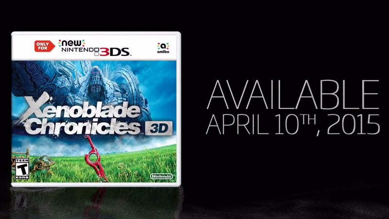 Xenoblade Chronicles Comes To New Nintendo 3DS On April 10 Polygon