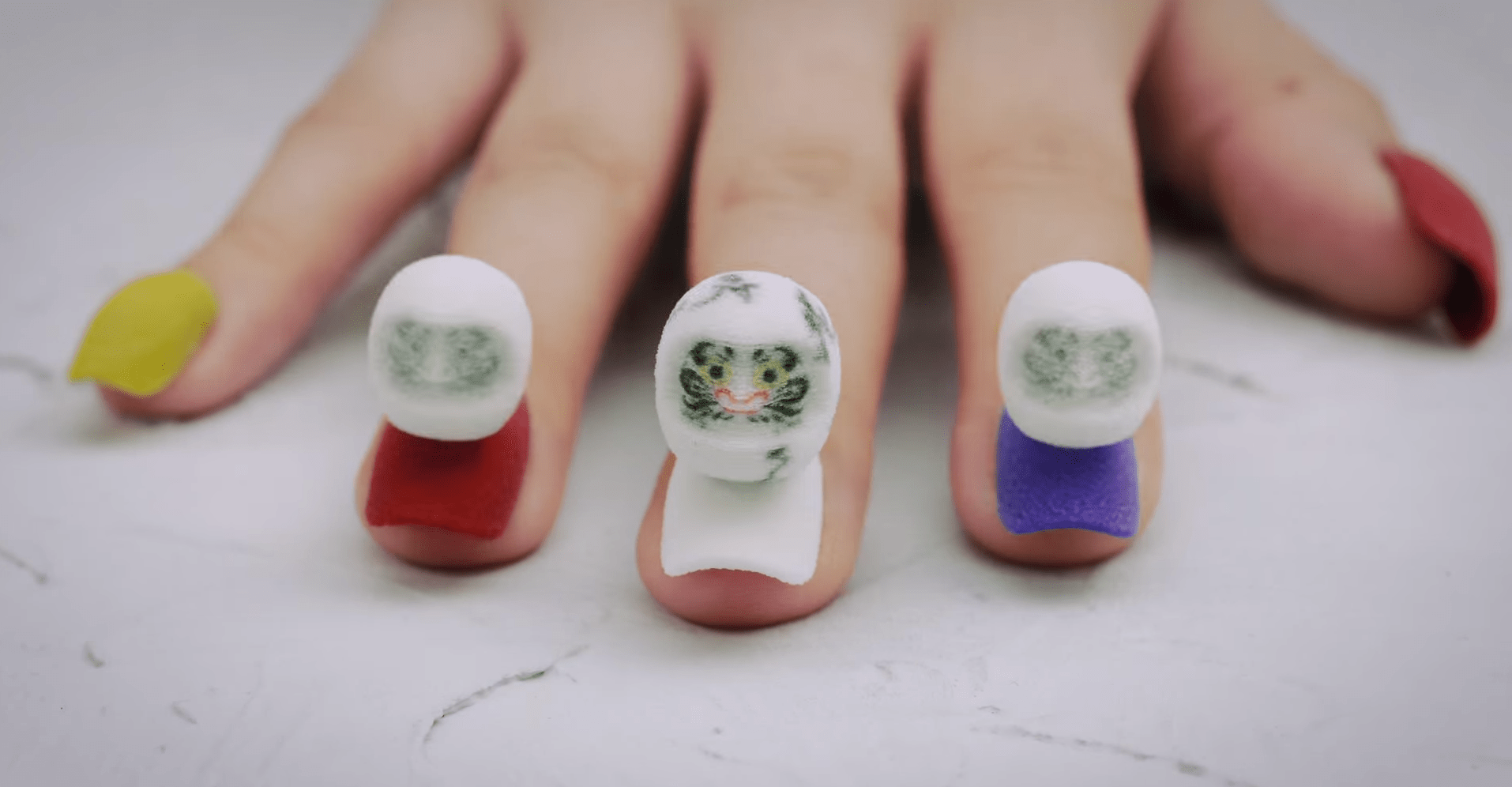 Stop Motion Nail Art Is A Sneak Preview Of Our Augmented Reality Future The Verge