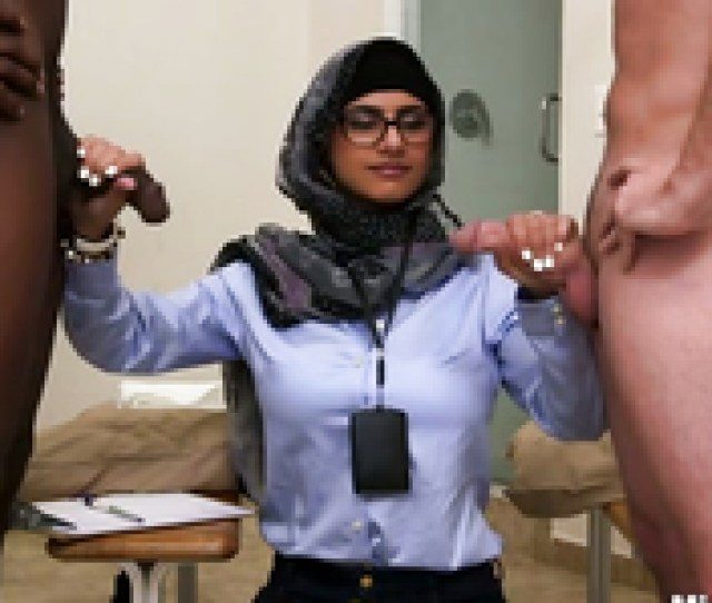 Sexy Mia Khalifa Engages In A Hot Interracial Threesome