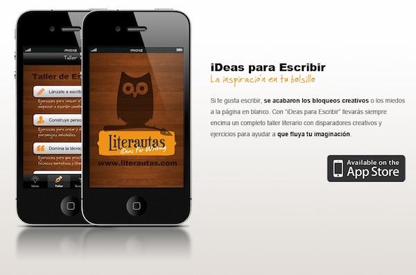 ideas para escribir iDeas para Escribir, una genial aplicación para escritores
