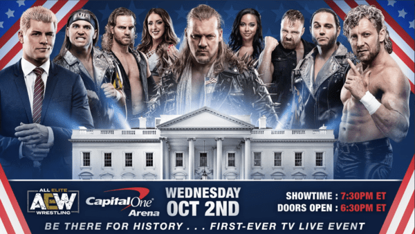 Aew S Weekly Tv Show Starts October 2nd From Capitol One