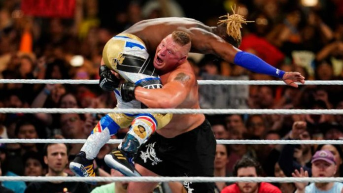 Brock Lesnar Pitched Kofi Kingston's WWE Royal Rumble Spot