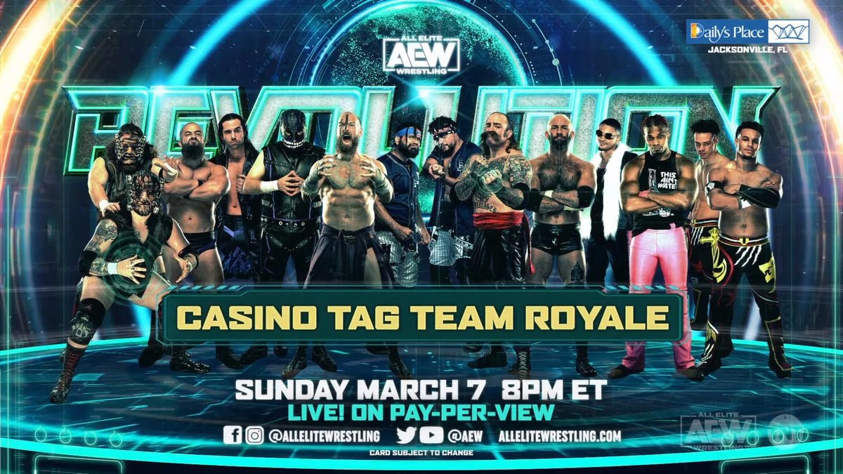 AEW Revolution 2021: 2 New Matches Added On Dynamite