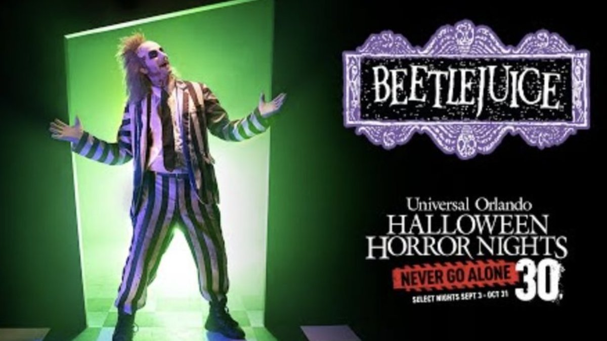 Halloween is a super thrilling night of the year and will be upon us before you know it. Beetlejuice Returns To Universal's Halloween Horror Nights 2021